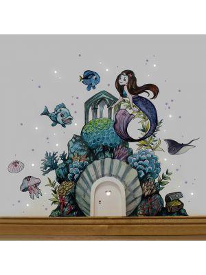 e18 Wichteltür Elfentür Unterwasserwelt Meerjungfrau 1