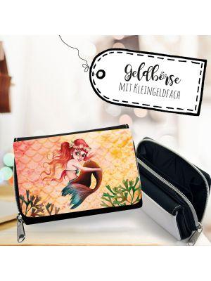 Geldbörse Portemonnaie kleine Meerjungfrau Geldbeutel Brieftasche gk136