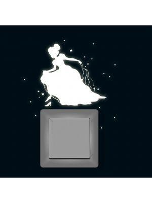 Lichtschaltertattoo-Cinderella