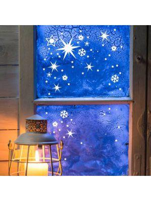 Sterne und Schneeflocken
