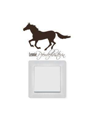Lichtschalterdeko Pferd