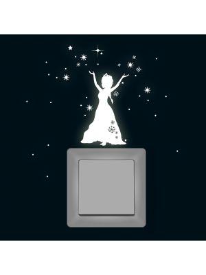 Fluoreszierend Eiskönigin
