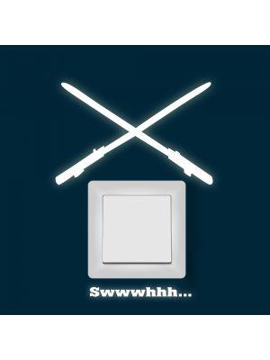 Fluoreszierend Lichtschwerter