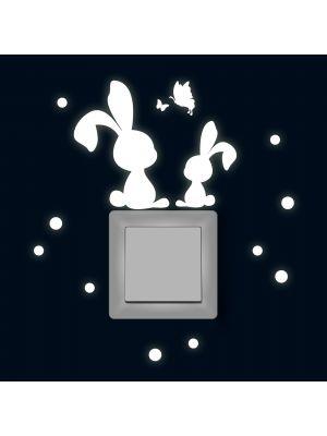 Fluoreszierend Hasen