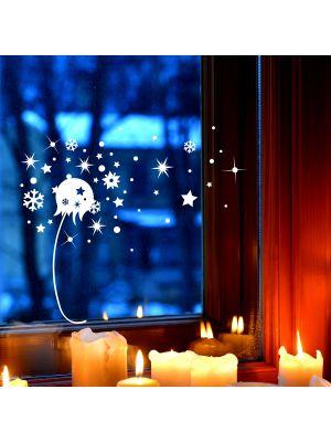 Fensterbild Puseblume