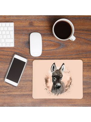Mousepad mouse pad Mauspad mit süßen Esel Mausunterlage Schreibtisch mouse pads Tier m66