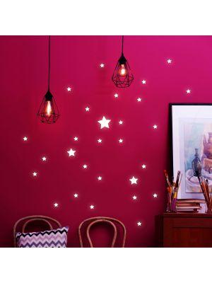 Leuchtsticker Sterne