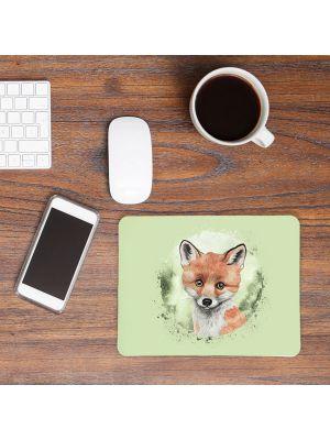 Mousepad mouse pad Mauspad mit süßen Fuchs Mausunterlage bedruckt mouse pads Tier mp69
