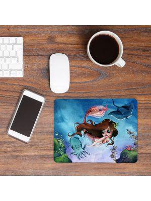Mousepad mouse pad Mauspad Meerjungfrau mit Freunde bedruckt mouse pads mp82