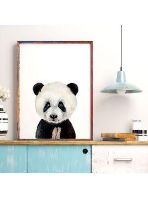 A4 oder A3 Poster Print Wandbild Panda Tierposter Tierbild Geschenk p169