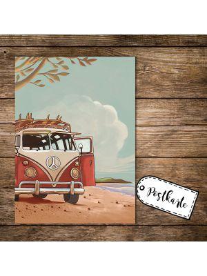 Postkarte Urlaub