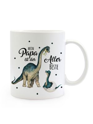 Tasse Becher Dino Papa Junges Mein Papa ist der Allerbeste Geschenk ts1021