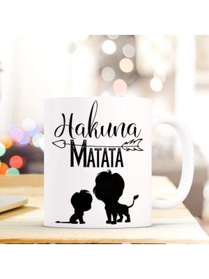 Tasse Becher Löwen Kaffeebecher Kaffeetasse mit Spruch