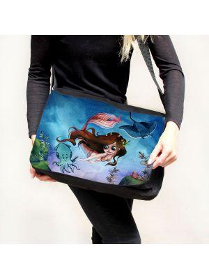 Schultertasche Schultasche Tasche Umhängetasche Meerjungfrau & Freunde tsu92