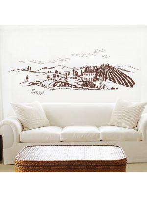 Toscana-wandtattoo