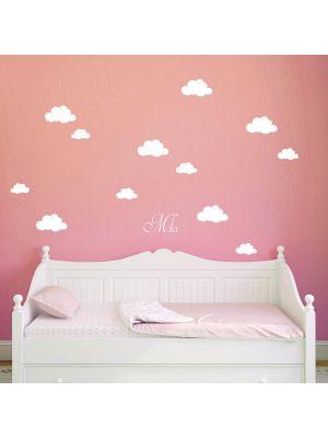 Wolken-aufkleber