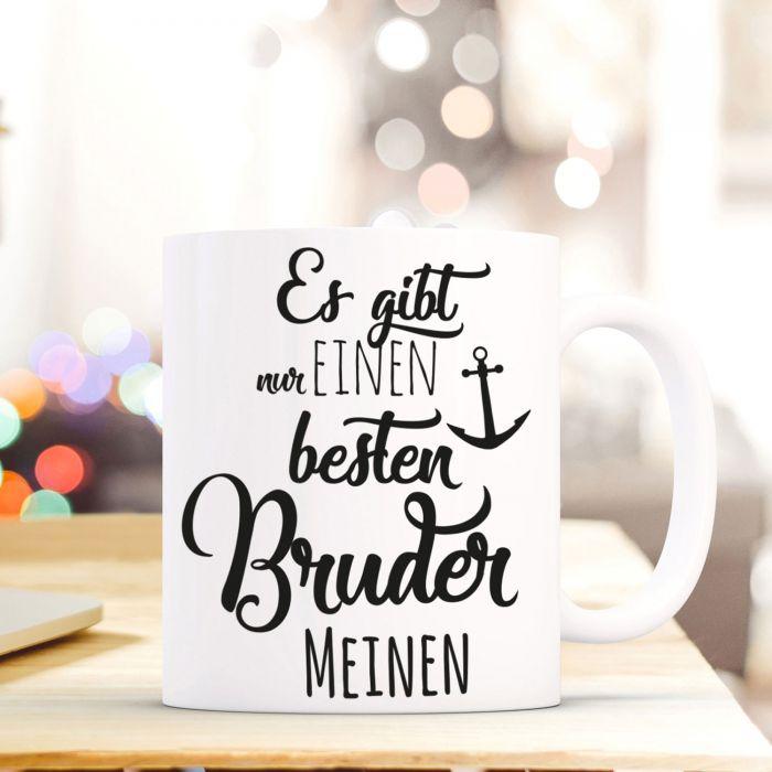 Tasse Becher Kaffeetasse mit Spruch