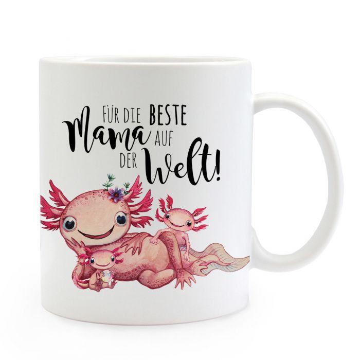 Tasse Becher Axolotl Spruch Papa Ist Der Beste Kaffeetasse Geschenk Ts951 Geschenk- & Werbeartikel Baby