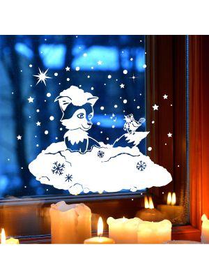 Fensterbild-winter
