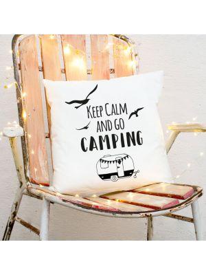 Kissen Dekokissen Campingkissen Wohnwagen mit Spruch Motivkissen inklusive Füllung ks172