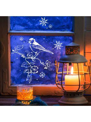 Anl sse geburt hochzeit ostern weihnachten fu ball wm em muttertag - Fensterdeko zweig ...