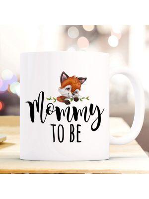 Tasse Becher Kaffeetasse Fuchs Füchschen Mommy to be Kaffeebecher ts1058