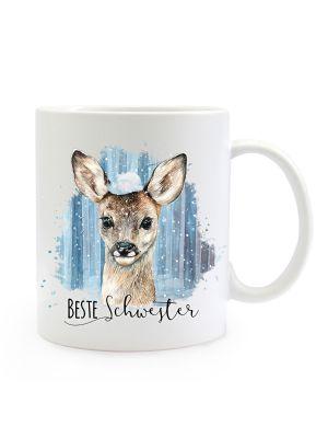 Tasse Becher Hase Ballon Spruch Mutter Bist Die Welt Kaffeebecher Geschenk Ts890 Geschenk- & Werbeartikel
